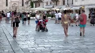 Hvar introduces tourist fines for tourists behaving inappropriately