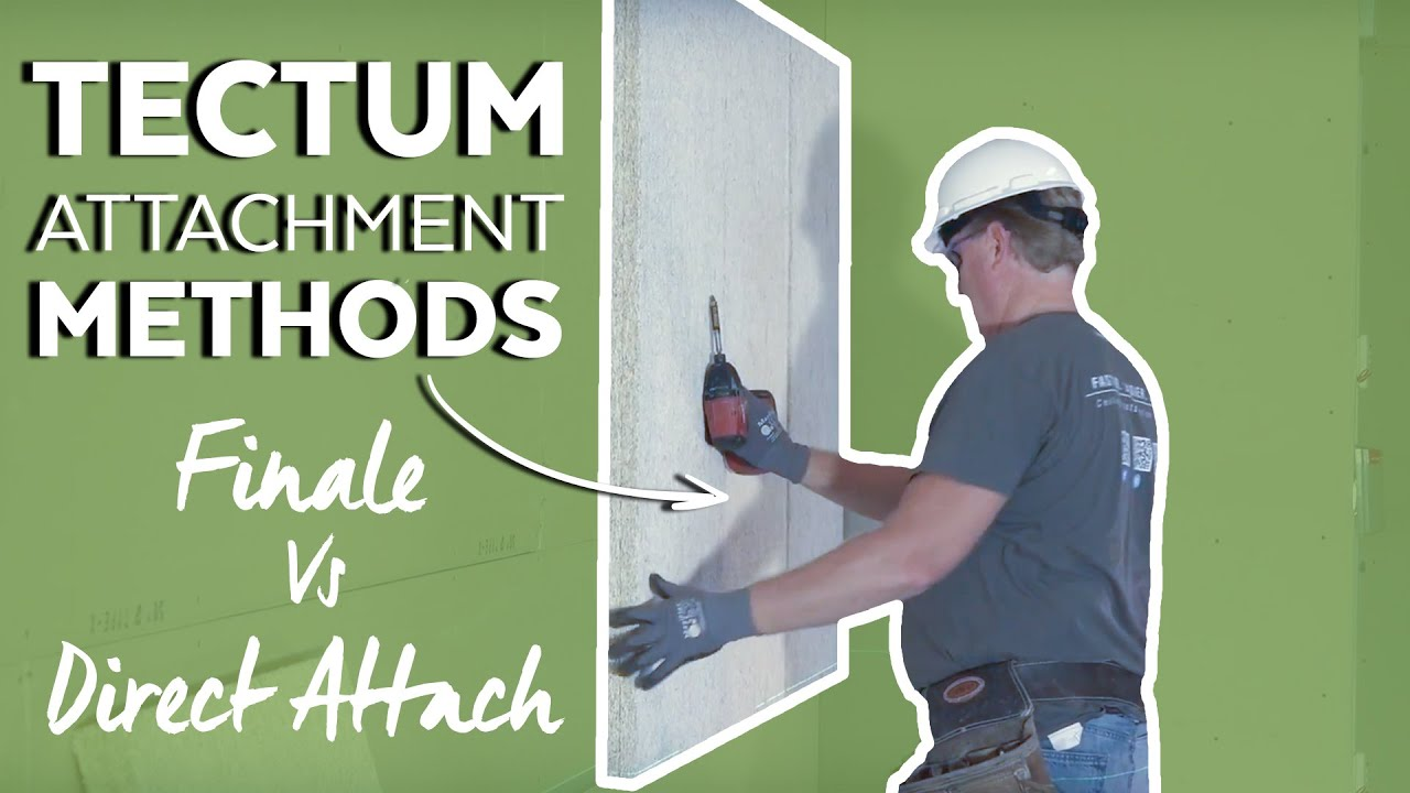 Fastest Tectum Wall Panel Installation Finale Vs Direct