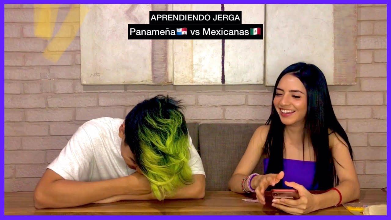 JERGA panameña vs JERGA mexicana ft Amaranta Venegas