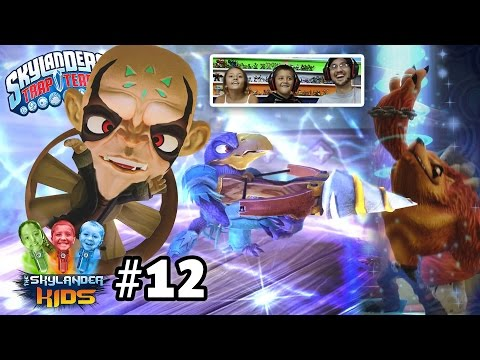 Lets Play Skylanders Trap Team: Chapter 12 - Time Town w/ Cross Crow (100% Commentary Gameplay)