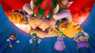 Mario Party 10 - Bowser Party - All Boards (Team Mario)