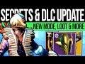 Destiny 2 | DLC CHANGES & HIDDEN CONTENT! New Armor, Exotic Nerf, Gold Chests, Sandbox & Secrets!!
