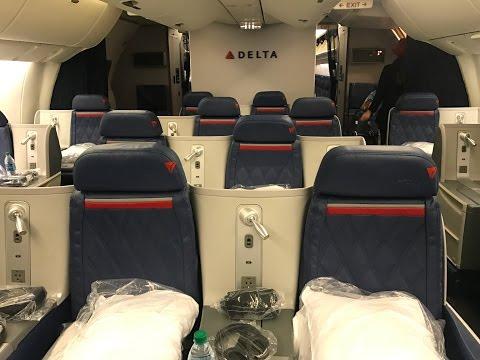 Flight Report JFK-MAD Delta Business Class - DeltaOne 767-300 ER (New York to Madrid)
