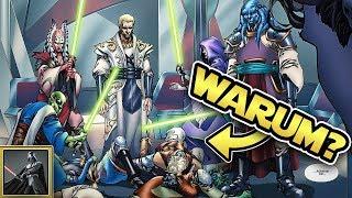 Star Wars: Warum JEDI MEISTER in der alten Republik ihre Padawane töteten [Legends]