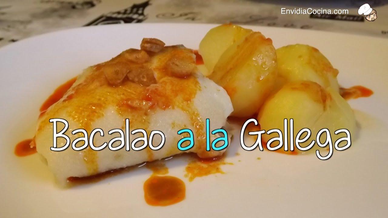 C mo hacer bacalao a la gallega con patatas receta f cil - Como cocinar bacalao congelado ...