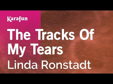 Karaoke The Tracks Of My Tears - Linda Ronstadt *