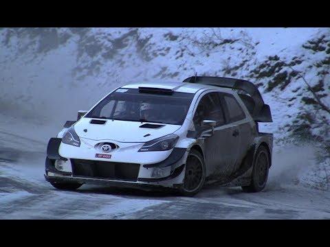 - TEST E. LAPPI TOYOTA YARIS WRC MONTE CARLO 2018 - CHECKPOINTRALLYE -