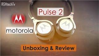 Motorola Pulse 2 Headphone Unboxing & Full Review