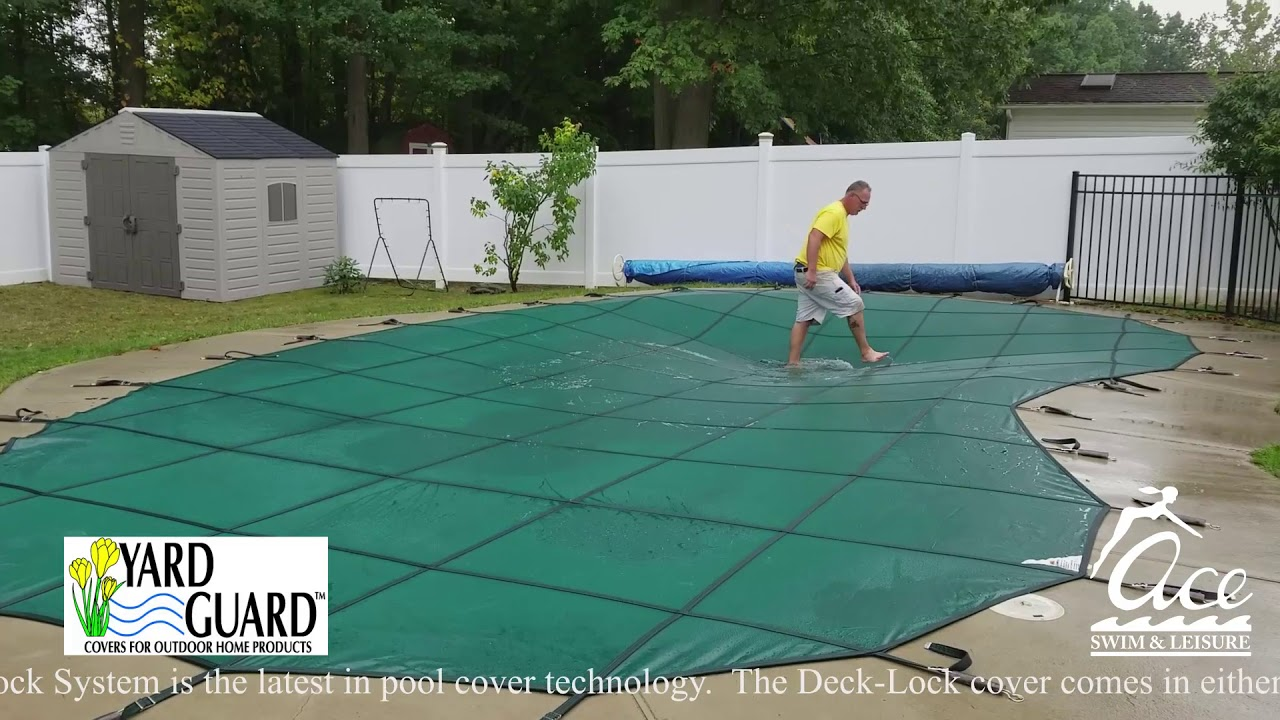 The Yard Guard Deck Lock System For In Ground Pools Youtube