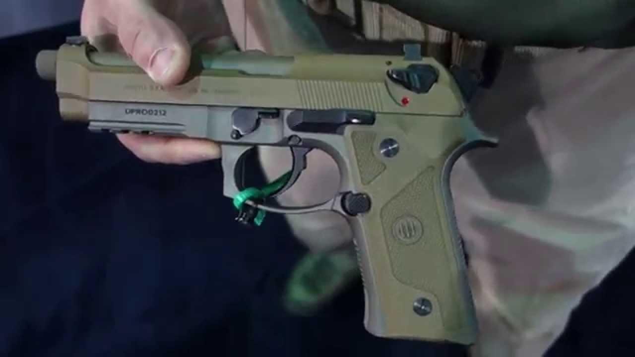 Beretta M9A3 High-Capacity 9mm Combat/Tactical Pistol with