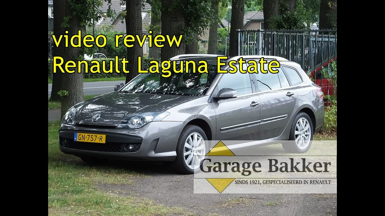 Video Review Renault Laguna Estate Dci 110 Expression 2010 Gn 757 R