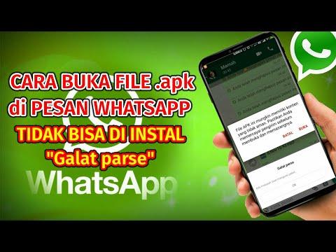 Cara Membuka File APK Yang Dikirim Lewat Whatsapp