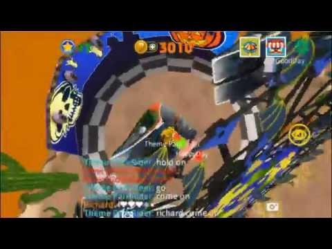 Hurricane Bat_Western Land - Theme Park Rider Playing Movie - 동영상