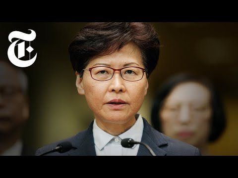 Who Is Carrie Lam? The Hong Kong Leader With Close Ties to China  NYT News