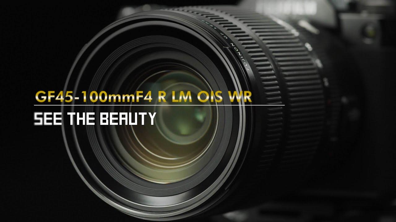 FUJINON GF45-100mmF4 R LM OIS WR Promotional Video/ FUJIFILM