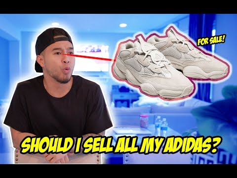 WE OFF YEEZYS! MIGHT BE SELLING ALL MY ADIDAS!