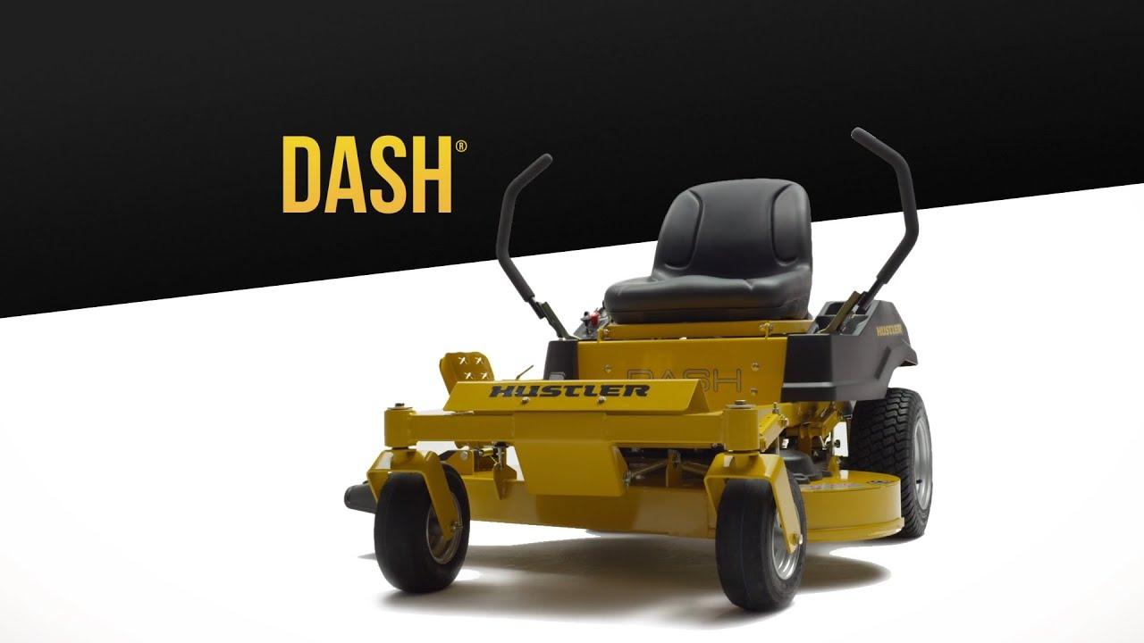 The Hustler DASH Zero Turn Lawnmower | Nolt's Power