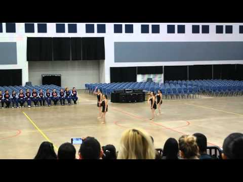 Vanguard Academy Spartanettes Officer Jazz Dance at ADTS Competition 2016