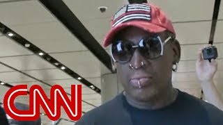 Dennis Rodman arrives in Singapore for Trump-Kim meeting