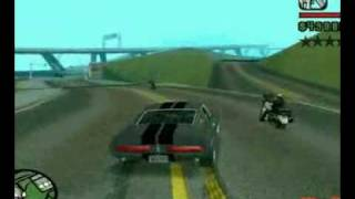 GTA san andreas Shelby GT 500 Eleanor Gone in 60 seconds