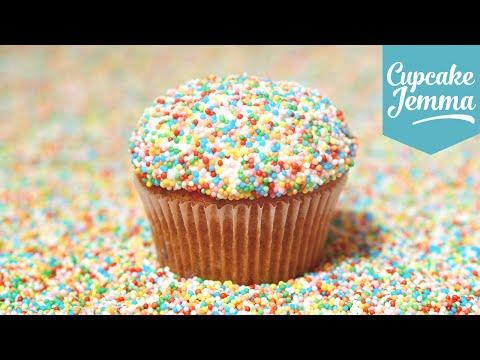 How to Make Funfetti Cupcakes | Cupcake Jemma