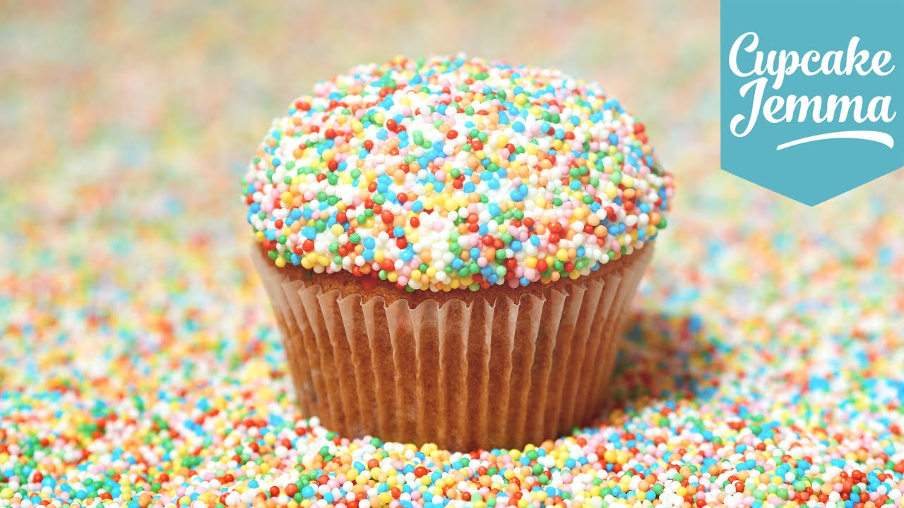 how to make funfetti cupcakes