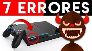7 MEJORAS que PLAYSTATION 5 de SONY DEBE HACER   ¡COMO MEJORAR FALLOS de PlayStation 4 y PS3! 2019
