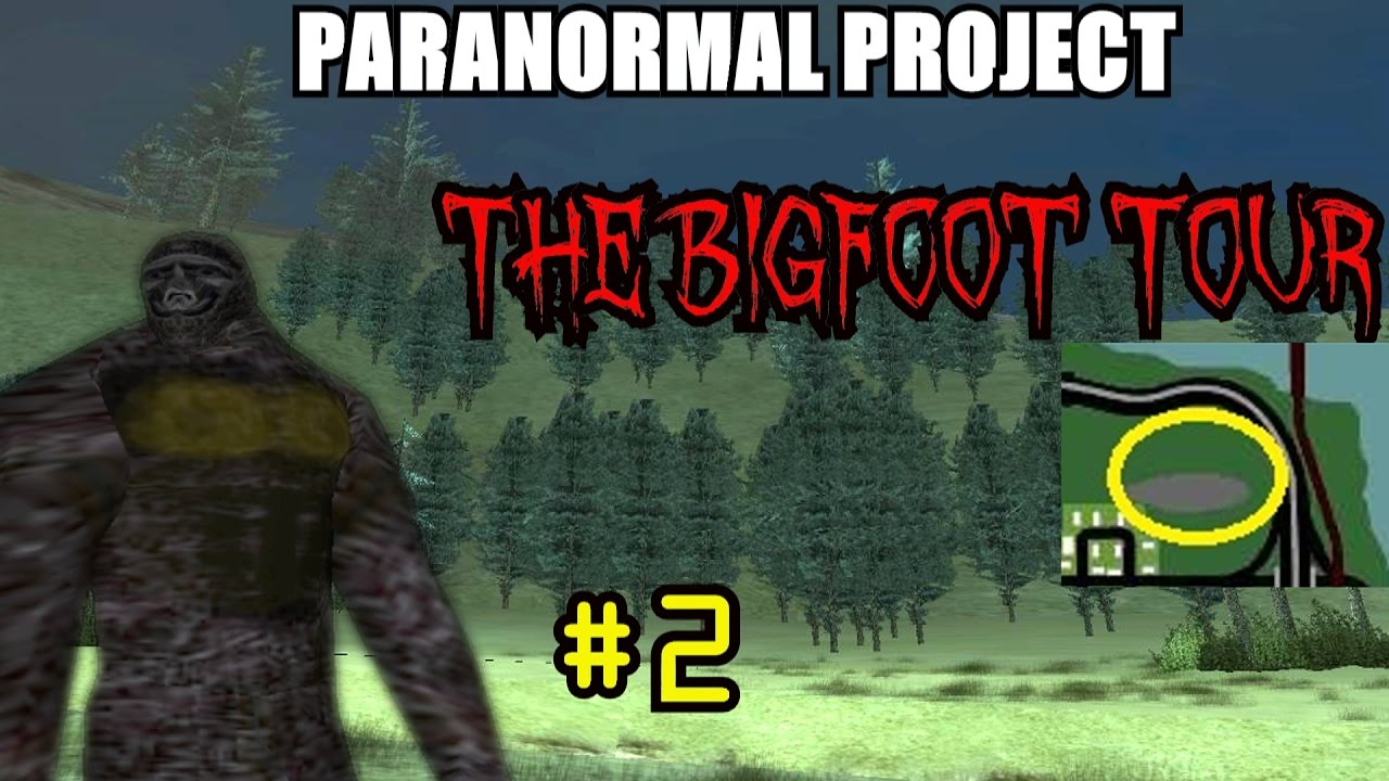Gta San Andreas Myths The Bigfoot Tour  Unnamed Forests Paranormal Project