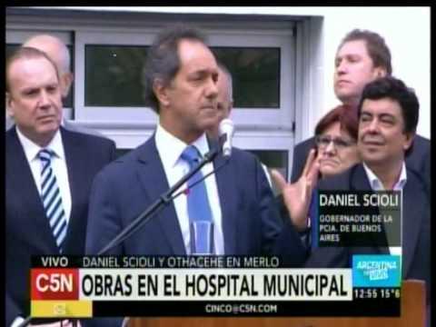 C5N - SALUD: SCIOLI Y OTHACEHE PRESENTAN OBRAS EN EL HOSPITAL MUNICIPAL DE MERLO (PARTE 2)