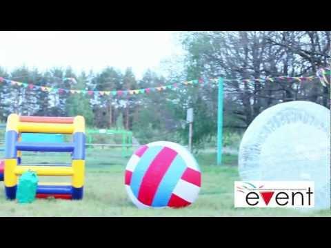 Удивительные надувные аттракционы на праздник в Воронеже от компании Event