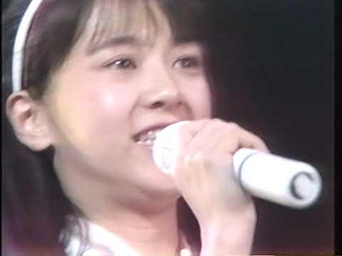 河合その子 涙の茉莉花LOVE  (1986LIVE)
