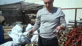 Шпилька, прут, стяжка, гайка для опалубки(http://www.opalubka911.ru Как пользоваться комплектующими для опалубки: - шпилька (прут, стяжка, анкерный прут), гайка..., 2013-05-01T11:20:07.000Z)