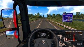 Euro Truck Simulator 2 - Beyond the Baltic Sea - Utena to Siauliai | Gameplay (PC HD) [1080p60FPS]