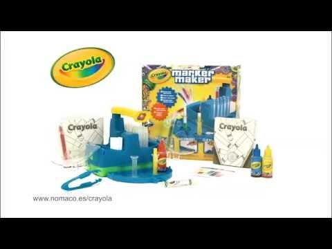 Crayola Marker Maker: Fábrica de Rotuladores - YouTube