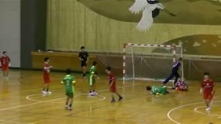 20191222福岡県高校新人ハンドボール男子3位決定戦 西南学院vs祐誠(後半)