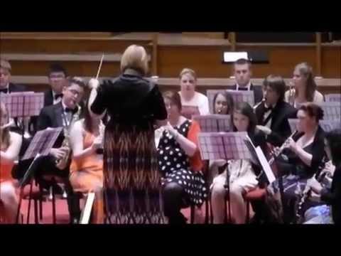 Bangor University Concert Band - Carmina Burana 'O Fortuna' (arr. Jay Bocook).