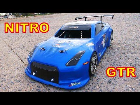 Nitro RC Cars Nissan Skyline GTR - HSP 94122 First Run & Unbox