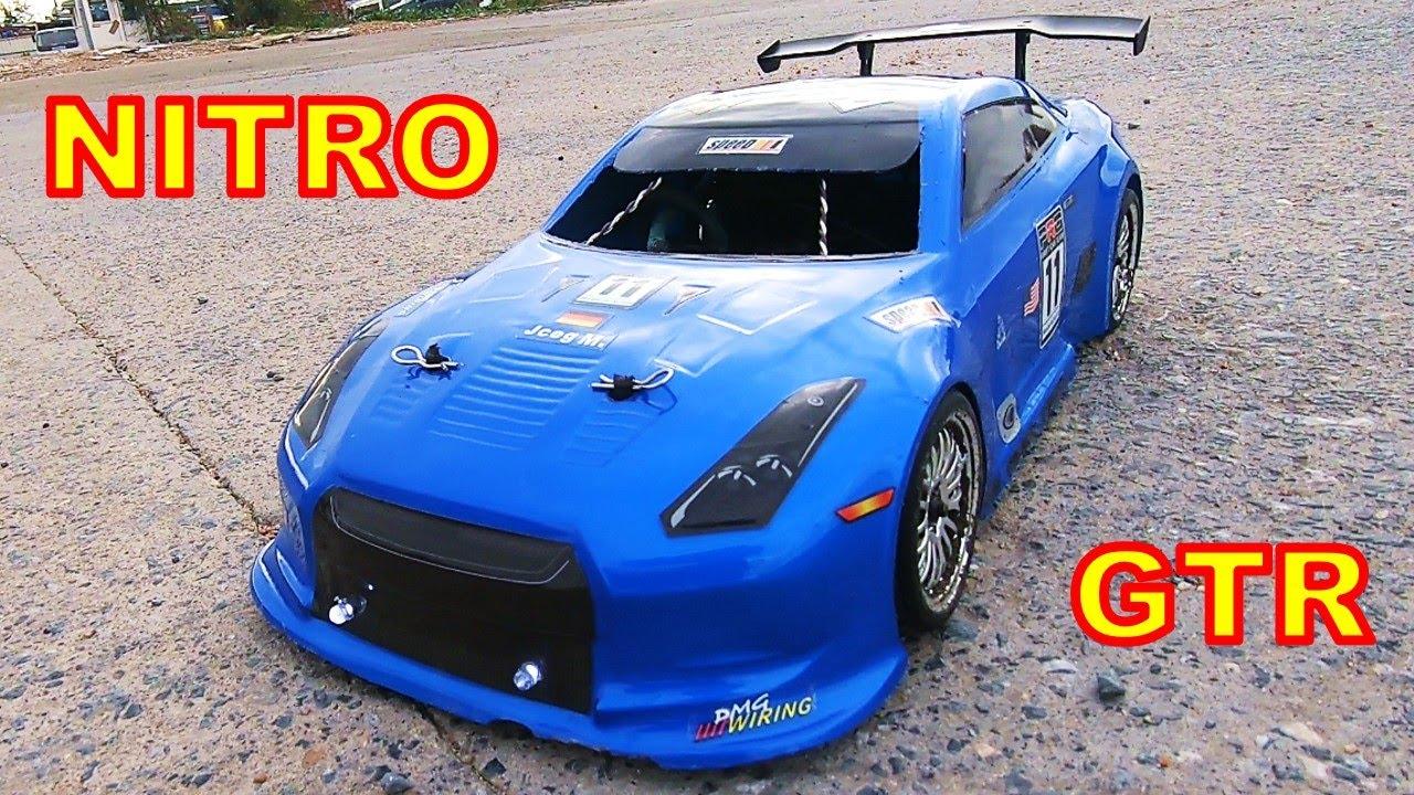 Nitro Rc Cars Nissan Skyline Gtr Hsp 94122 First Run Unbox Youtube