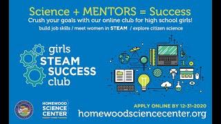 Girls STEAM SUCCESS Club Information Q&A