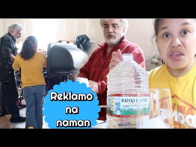Walang katapusang paglilinis ng bakuran + nag REKLAMO dahil sa baso ( Fil-Am Vlog )