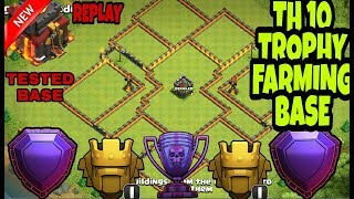 NEW TH10 (TOWN HALL 10) Trophy Base 2018 Anti Everything | TH10 Farming Base | TH10 BASE | COC