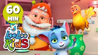 Five Little Friends - THE BEST Songs and Lullabies for Children | LooLoo Kids