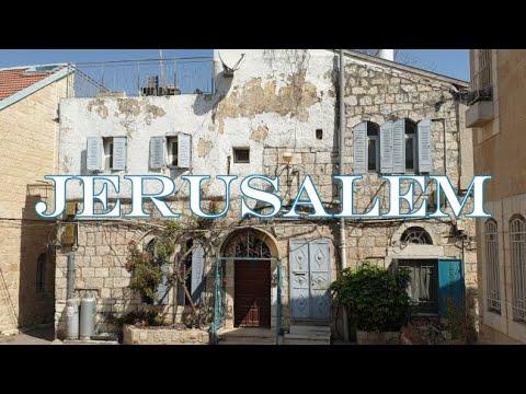 Walking In Jerusalem Israel Nachlaot Neighborhoods 2020