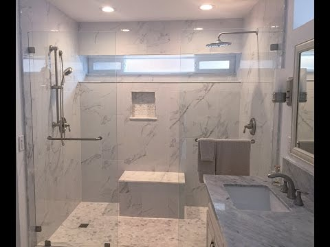 ModernMarble Shower and Bathroom Remodel