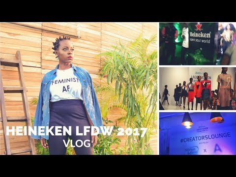 Heineken Lagos Fashion and Design Week 2017 Vlog | OmogeMuRa