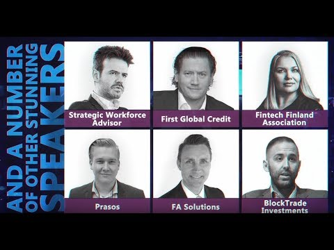Blockchain & Bitcoin Conference Finland 2018 - meet top speakers