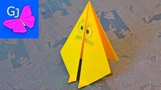 Оригами из бумаги ❤️ ЗАБАВНЫЙ ХОДУНЧИК
