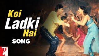 Koi Ladki Hai Song   Dil To Pagal Hai   Shah Rukh Khan   Madhuri Dixit   Lata   Udit