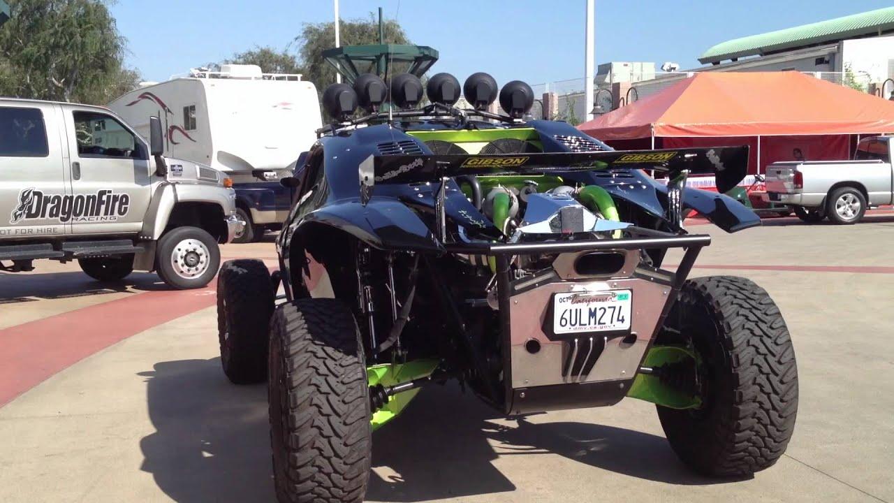 Monster Energy Buckshot Racing Sandrail At The Orange