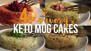 4 Savory Keto Mug Cake Recipes